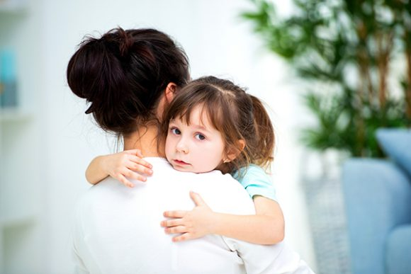 Reducing separation anxiety in young children