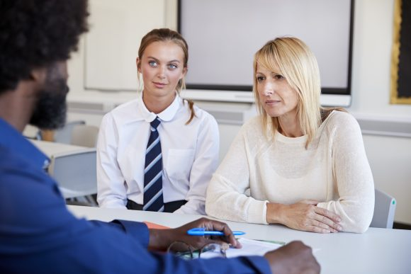 Building healthy relationships with teachers